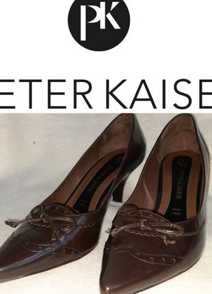 Туфли лодочки Peter Kaiser p.38.5 Германия