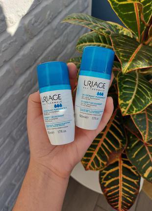 Шариковый дезодорант тройного действия Uriage