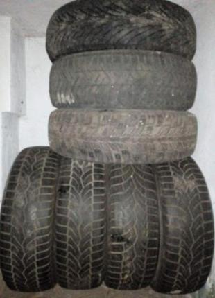 Авторезина 9 шин за 999 грн, скаты 185 65 15 комплект зима + л...