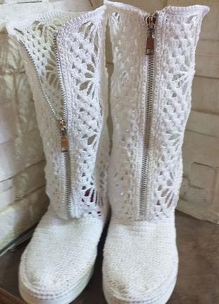 Вязанная обувь на заказ