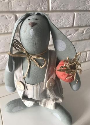Интерьерные куклы тильды зайцы
