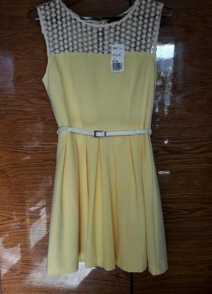 Красивое короткое летнее платье forever21