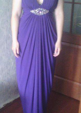 Вечернее\выпускное платье в греческом стиле