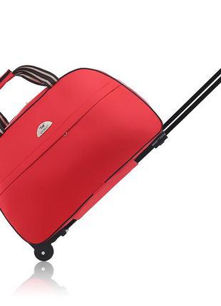 Дорожня сумка на колесах для ручної поклажі в літак