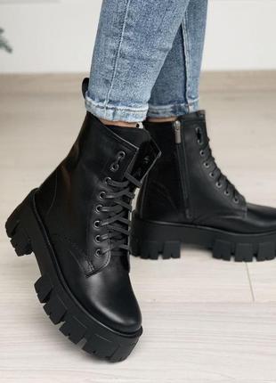 Ботиночки материал натуральная кожа сезон зима