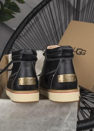Шикарные мужские зимние кожаные угги/ сапоги/ ботинки ugg aust...