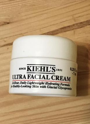 Увлажняющий крем для лица kiehls ultra facial cream 7 мл