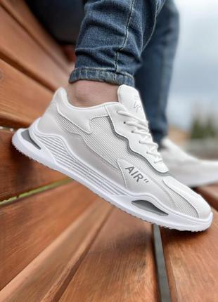 Мужская белая обувь