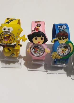 Детские кварцевые наручные часы для девочек и мальчиков