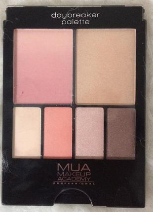 Палетка для контуринга mua colour&contour palette day breaker ...