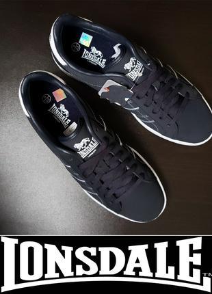 Кроссовки сникерсы LONSDALE кожа US10|EUR43 ORIGINAL мужские