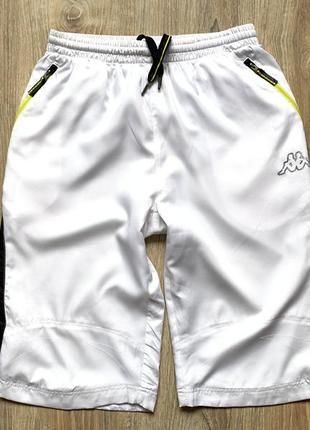 Мужские спортивные бриджи шорты kappa