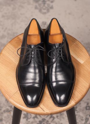 Кожаные дерби Toscanini, Португалия 40р мужские туфли оксфорды че