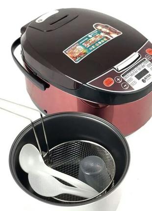 Мультиварка 6,0л 1500Вт 12 программ Rice Cooker MultiPro BITEK