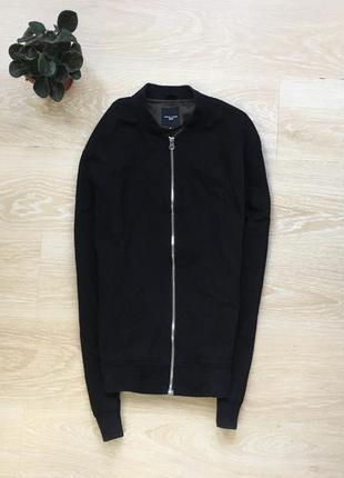 Куртка бомбер new look чёрный