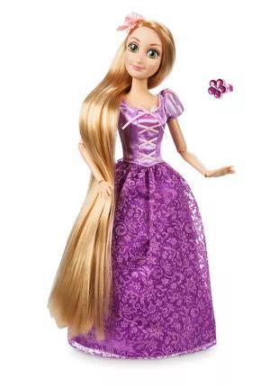 Кукла Рапунцель в наборе с колечком.
