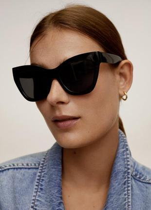Солнцезащитные очки в пластиковой оправе, стильні окуляри сонц...
