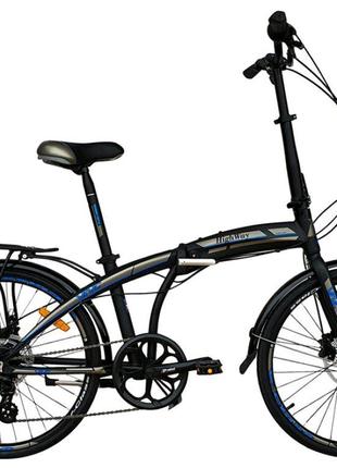 Складной велосипед с дисковыми гидравлическими тормозами 2021