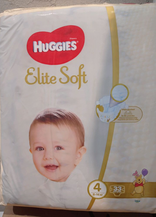 Huggies elite soft 4