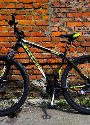 """Велосипед Cross Bike Shark 19.5"""" 29"""" DISC горный 2021 Shimano НОВ"""