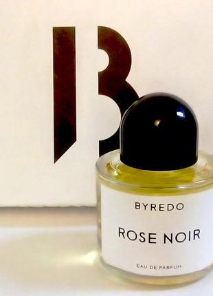 Byredo Rose Noir Оригинал EDP  2 мл Затест_парф.вода