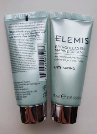 Elemis Pro-Collagen Marine Cream денний крем проти зморшок 15мл