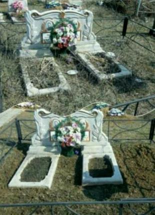 Уборка могил в Кривом Роге
