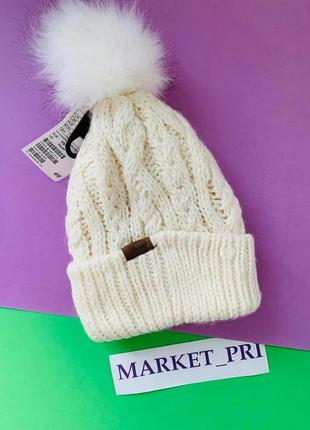 Тёплая шапка hm  для девочки