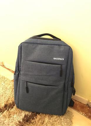 """Надёжный рюкзак фирмы """"Backpack"""""""