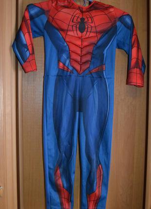 Карнавальный костюм человек паук на 2-3 года, 3-4 года, костюм...