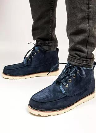 Мужские Зимние Ботинки Угги Ugg David Beckham Boots Люкс Качество