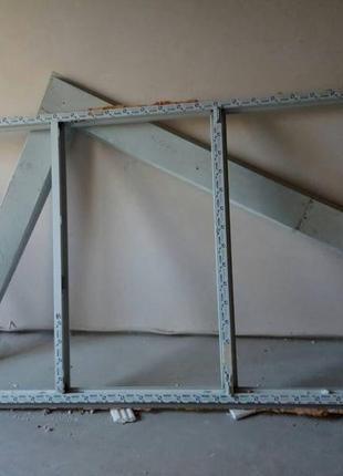 Балкон 2.75 на 1.40 три стекла одно на открытие