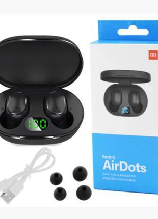 Беспроводные Bluetooth Наушники Xiaomi AirDots Pro Блютуз Led ...