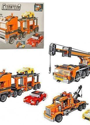 Конструктор 3в1 транспорт AUSINI 25118 , 1504дет