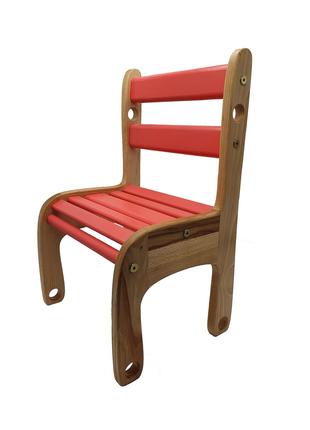 Дитячий стільчик дерев'яний Вудік колор 04-04R