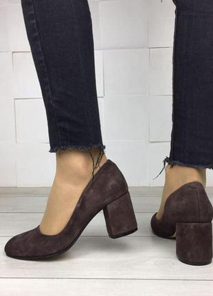 Женские туфли на устойчивом каблуке | Жіночі туфлі 👠