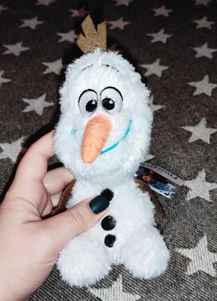 Олаф снеговик olaf frozen холодное сердце мягкая игрушка