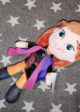Frozen anna мягкая игрушка холодное сердце анна