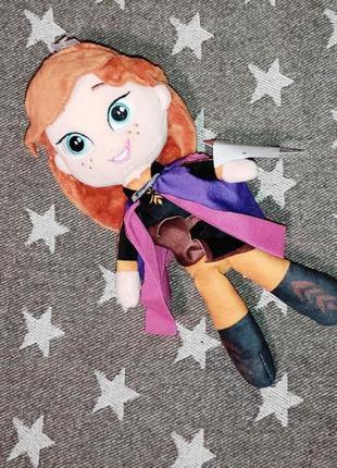 Anna frozen холодное сердце анна мягкая игрушка