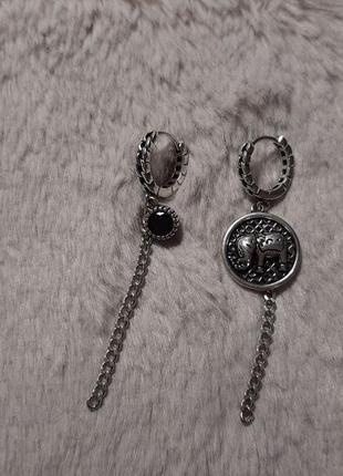 Серьги серебро 925 проба