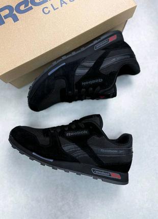 Мужские кроссовки Reebok Classic All Black