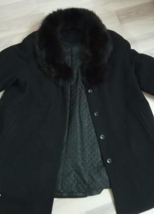 Кашемировое зимне-осеннее пальто