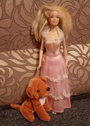 Кукла Барби(S8)в платье с собачкой