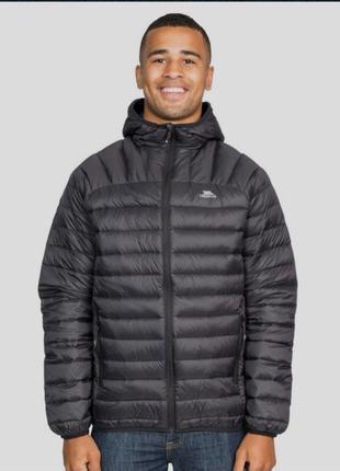 Легкая, теплая куртка , пуховик trespass, пух, перо