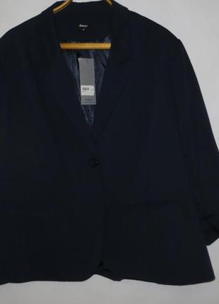 Пиджак, жакет на красивые формы р.28