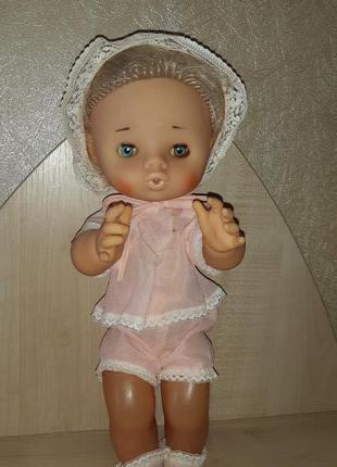 Кукла Пупс СССР Женя ДЗИ Клеймо 40 см