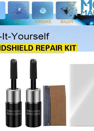 PRO набор 3 в 1 для ремонта сколов и трещин лобового стекла,авто