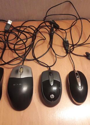 Оптическая компьютерная мышка hp, logitech на восстановление з...