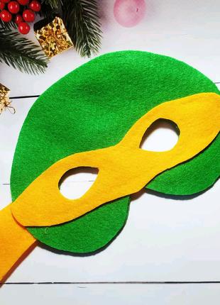 Новогодняя маска. Карнавальная маска. Маска детская для утренника