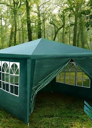 Садовый павильон шатер 3х3 м (4 стенки) Польша